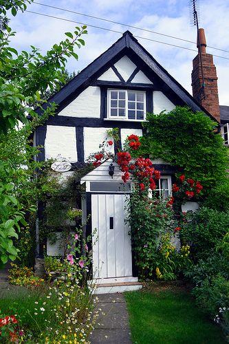 Half Timbered Cottage, Eardisland, Herefordshire