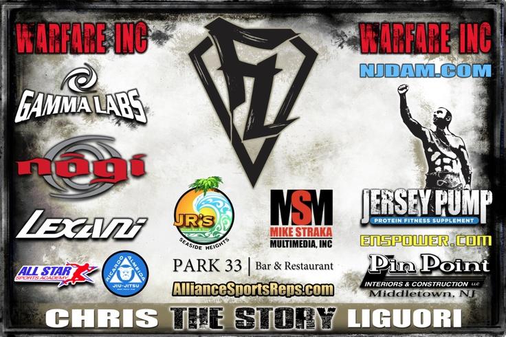 Chris Liguori CFFC XVI Fight Banner #MMA