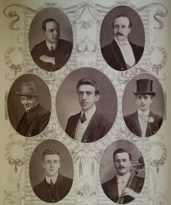 Los últimos músicos que tocaron en el Titanic mientras se hundía.