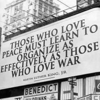 Truth be told...  We must effectively organize against the Military Industrial Complex and in getting some Campaign Finance Reform to preserve peace.