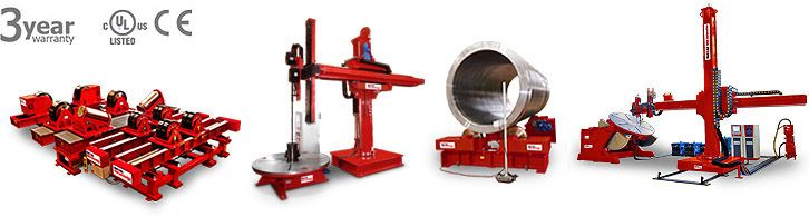 Complete #Weld #Automation #Systems - Welding positioners, manipulators, turning rolls and other weld automation products are available for sale, lease and rent at Red-D-Arc Welderentals.