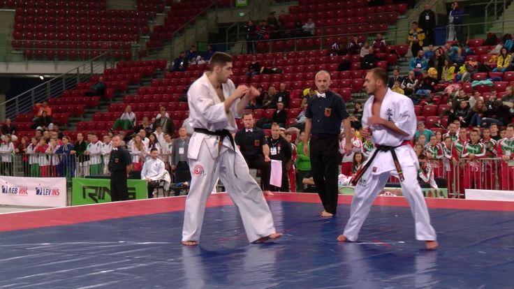 Men's Kumite Openweight European Karate Championships Sofia 2016