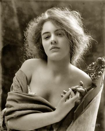 Art Nouveau Nymph photo