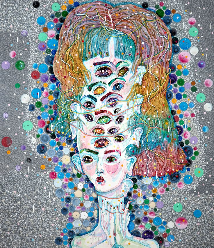 We are in total bliss today as the Del Kathryn Barton exhibition 'angel dribble'…