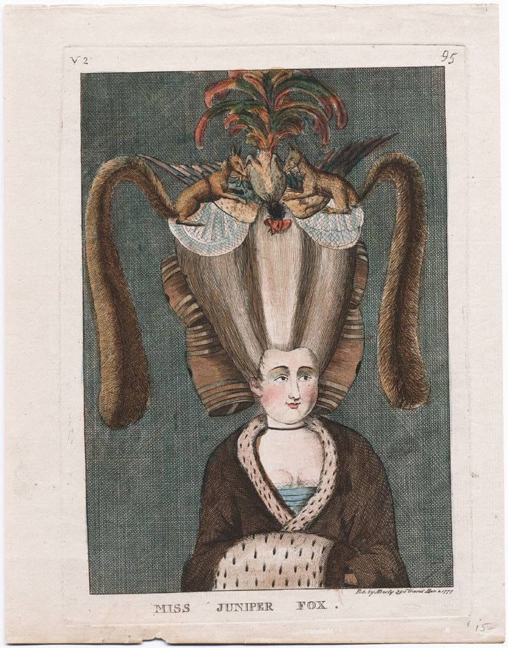 Ms. Juniper Fox, 1777, Lewis Walpole Library Digital Collection