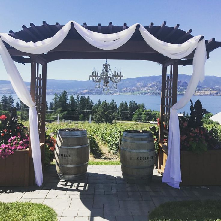How stunning is this site for a beautiful wedding ceremony? We had the pleasure of being in Kelowna the last few days to assist with this perfect bride's special day. She had the most amazing vision and everything came together so beautifully. Congrats Shannon and Dustin! Waltzly (@waltzlyevents) on Instagram