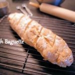 A healthy, home-baked French Baguette bread from Seduction in the Kitchen