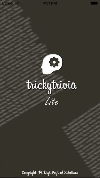 Enjoy this new experience of playing trivia game. Tricky Trivia is completely free to play. No inapp purchases. All the thousands of GK Quiz questions are completely free to play. Train your brain and amuse your friends for hours with Tricky Trivia! Download it Today! Get knowledge from fun!! https://itunes.apple.com/us/app/trickytrivia-lite-gk-quiz/id913972192?mt=8 #iOS #Quiz #Knowledge