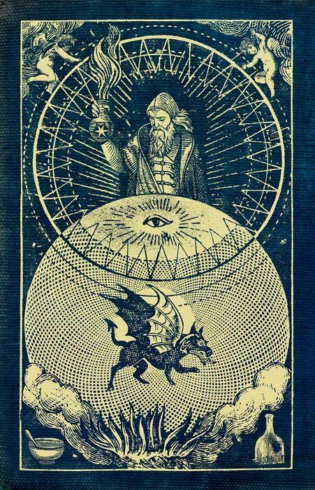 Alchemist / dragon  / Sacred Geometry <3
