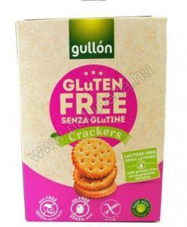 Gullon gluténmentes és laktózmentes cracker 200g