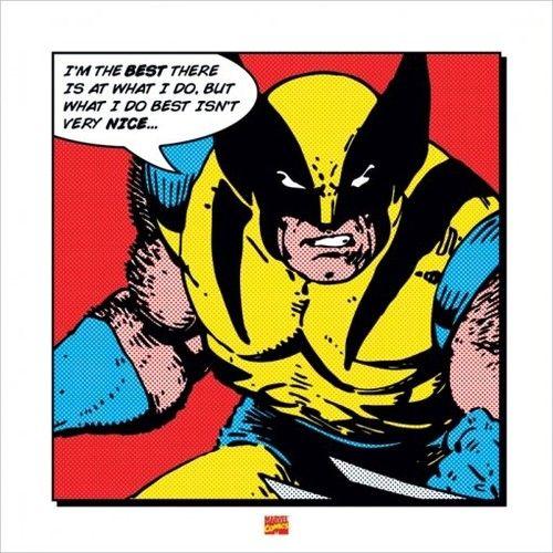 Superhero Art- Wolverine