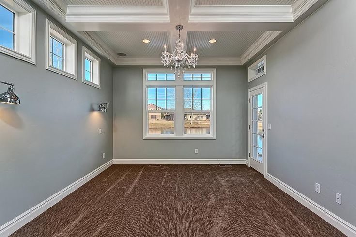 Clark And Co Homes Interiors Snowfall White Trim And
