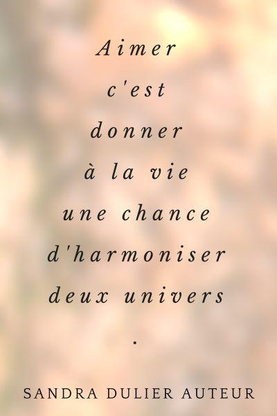 Aimer - Sandra Dulier Plus de citations d'amour sur le tableau https://www.pinterest.com/sandradulier/citations-damour/