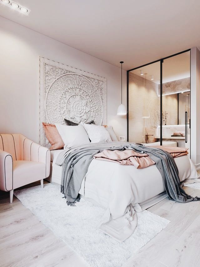 Modern bohemian bedroom Home Decor Inspiration home decor, home ...