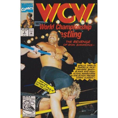 WCW - WORLD CHAMPIONSHIP WRESTLING #2 | $3.60  1992-1993 | VOLUME 1 | MARVEL