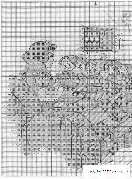 Snow White & the Dwarfs 2 of 4