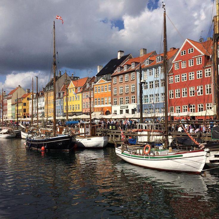 Nyhavn a.k.a. New Haven in Copenhagen, Denmark
