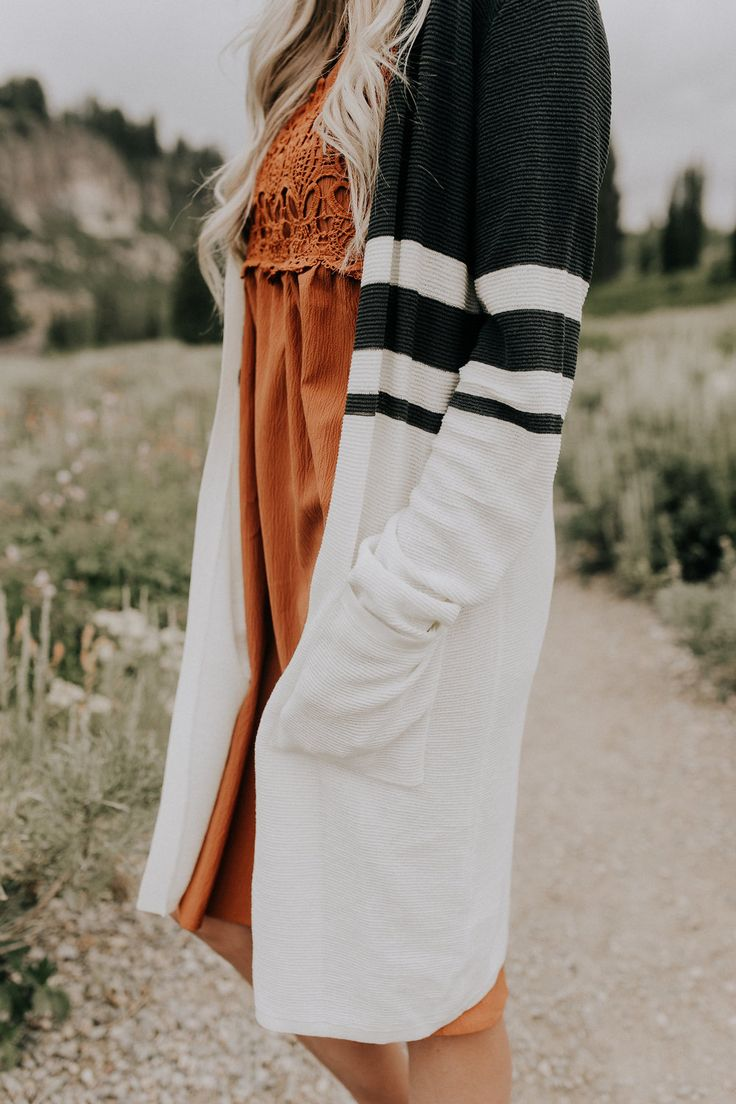Long Cardigan With Pockets | ROOLEE