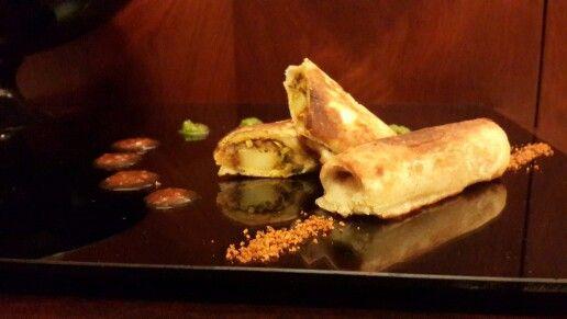 Bread pakoda masala Dosa... Juggle bandi of flavors..  Recipe on my website n facebook page