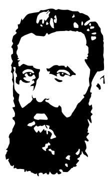 Theodor Herzl - Artistic face of Herzl -Wikipedia, the free encyclopedia