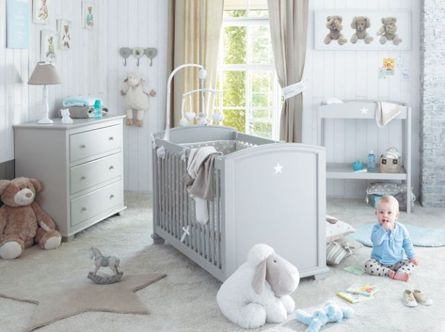 81 best id es d co chambre b b images on pinterest baby room nursery and children for Idee deco slaapkamer baby meisje