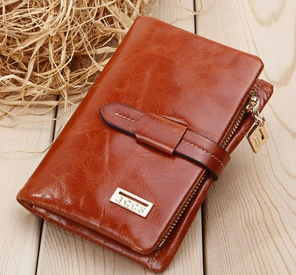 Free Shipping 100%  Genuine Leather  women's short section of the multi-card wallet Retro purse.Clutch Bag JJ1029 $28.50