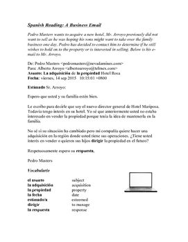 How to write a formal letter or email in Spanish