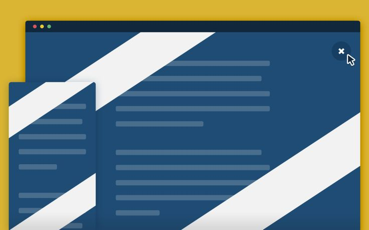 SVG Modal Window – A simple modal window with an animated SVG background.