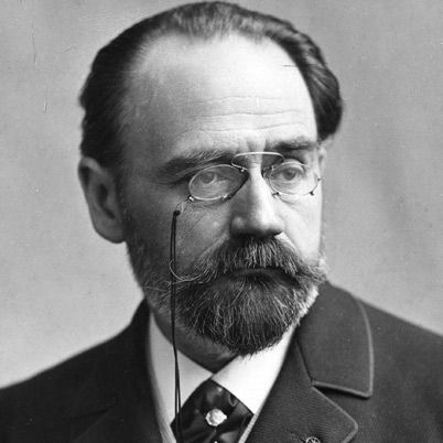 Emil Zola, novelista e intelectual francés de orixe italiana.