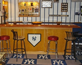 Usmc Man Cave Ideas : Man up see caves primed for super bowl sunday