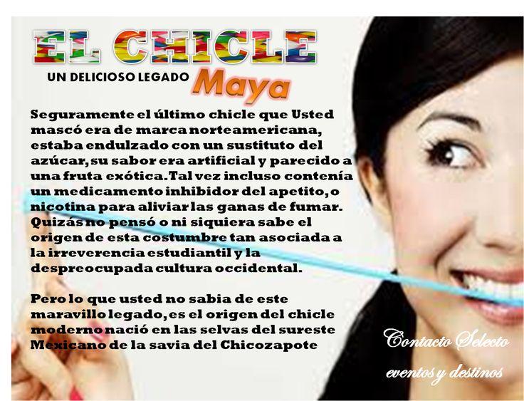 Un delicioso legado Maya :)