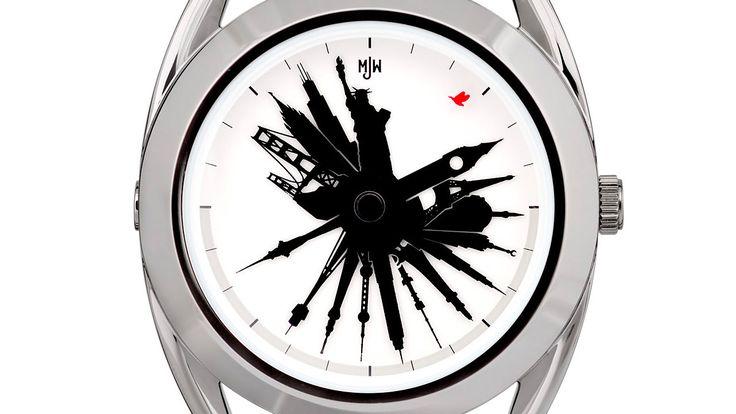 Unikátní hodinky Time Traveller londýnské značky Mr Jones Watches vám vždy ukáží aktuální světový čas. Pouze na 24Time.cz ! http://www.24time.cz/time-traveller/