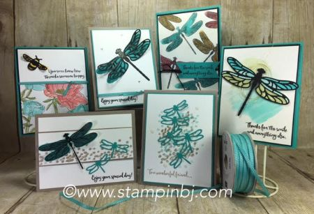 Dragonfly Dreams, Detailed Dragonfly Thinlits, Stampin' Up!