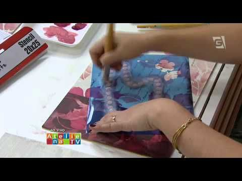 Ateliê na TV - TV Gazeta - 30.01.15 - Mayumi Takushi - YouTube