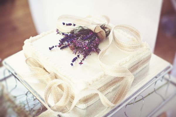 DIY Village Hall Wedding Traditional Cake http://www.onloveandphotography.com/