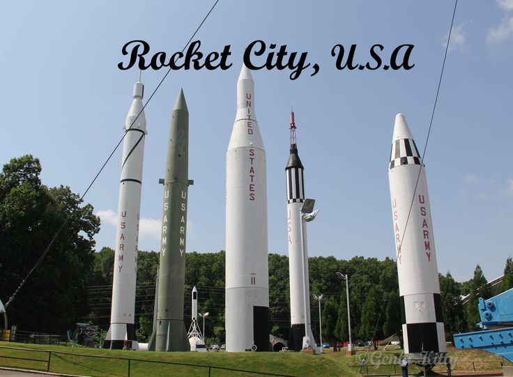 US Space and Rocket Center in Huntsvile, Alabama, USA