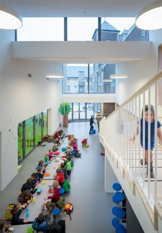 Kleuterschool de Gekko by Moke Architecten and Gianni Cito - News - Frameweb