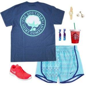 southern shirt company and nikes