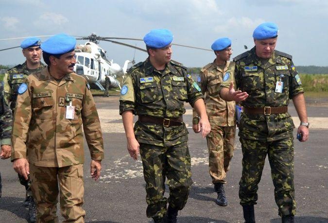 Украинский миротворческий контингент в Сьерра-Леоне 2000-2005
