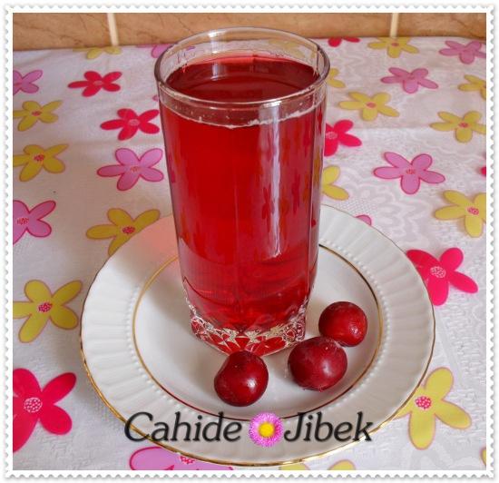 Ev yapımı konsantre vişne suyu | Cahide Sultan بسم الله الرحمن الرحيم