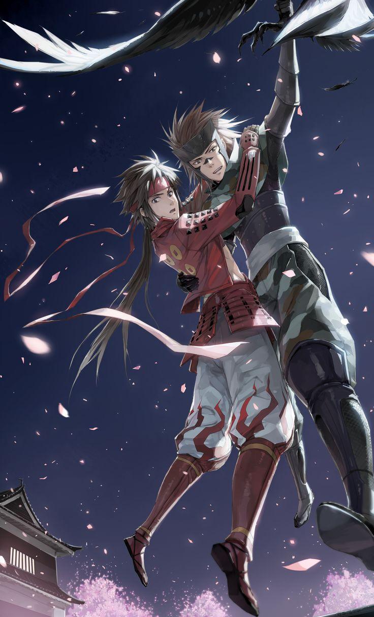 Sarutobi Sasuke & Sanada Yukimura From Sengoku Basara.