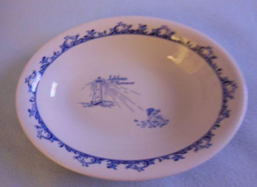 Vintage Mayer China Large Lighthouse Restaurant Ware Vegetable Bowl Dish VGC | eBay