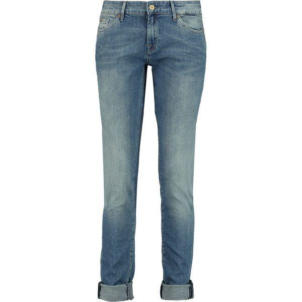 7 for all mankind cristen low rise slim leg jeans 120. Black Bedroom Furniture Sets. Home Design Ideas