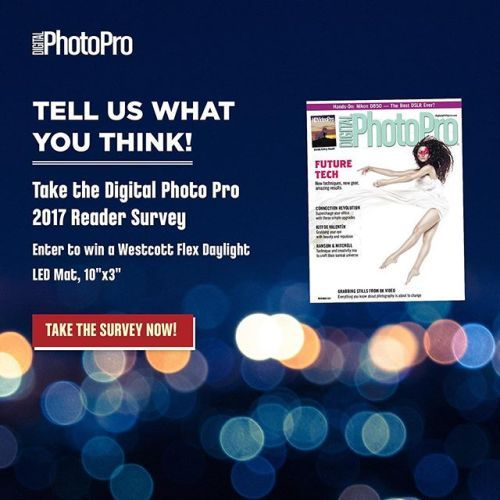 We Need Your Input! Please take a few minutes to complete this survey to tell us how were doing and what we can improve. As a special thank you for participating youll be entered into a drawing for a Westcott Flex Daylight 10x3 LED Mat.http://ift.tt/2zhEVea via Digital Photo Pro on Instagram - #photographer #photography #photo #instapic #instagram #photofreak #photolover #nikon #canon #leica #hasselblad #polaroid #shutterbug #camera #dslr #visualarts #inspiration #artistic #creative…
