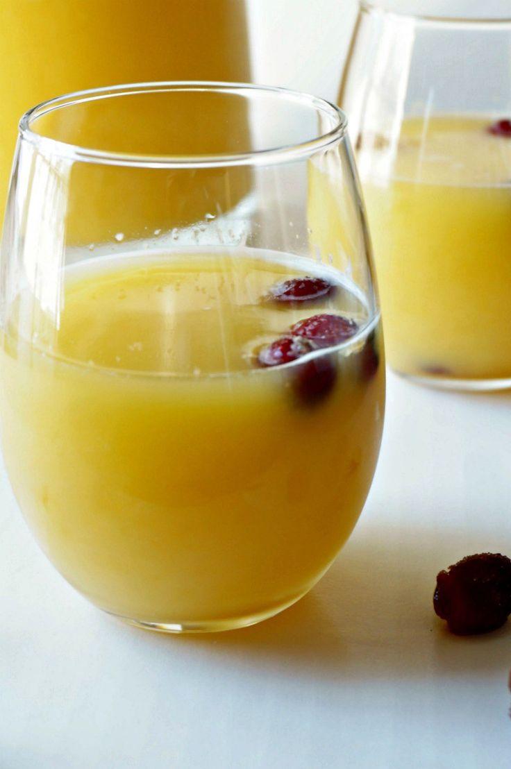Cranberry Orange Spritzer: A simple, festive orange and cranberry ...