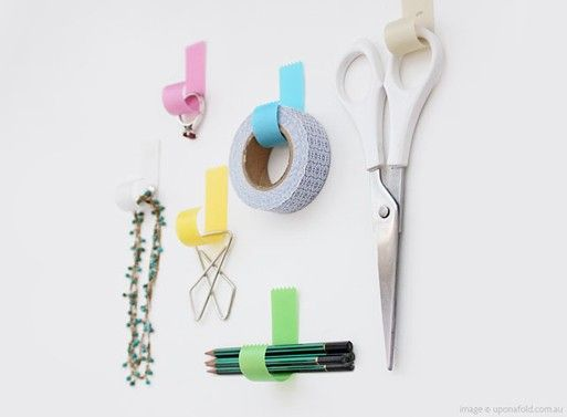 Tapehook — ACCESSORIES -- Better Living Through DesignIdeas, Organic, Offices, Crafts Room, Masks Tape, Tape Hooks, Thankstapehook Accessories, Washi Tape, Design