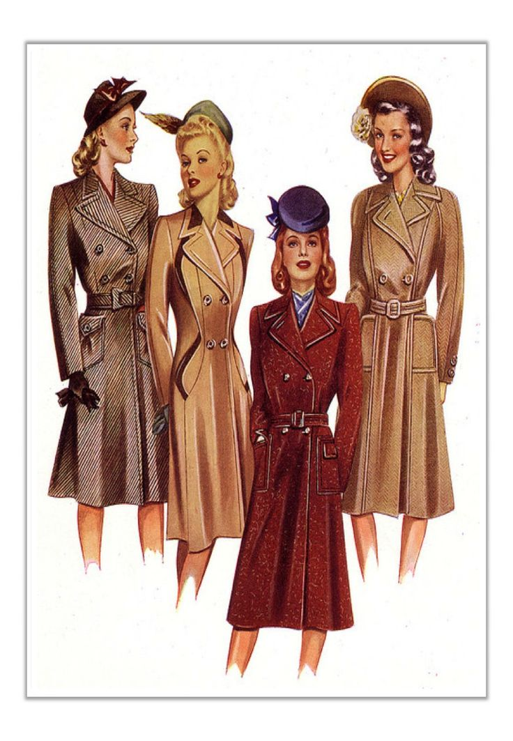 1940's lower/middle class fashion - Google Search