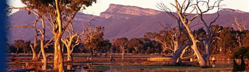 Grampians Victoria from Lake Fyans Accommodation