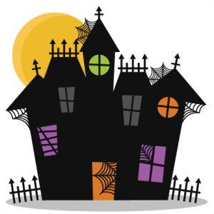 Haunted House SVG cutting files bat svg cut file halloween cute files for cricut cute cut files free svgs