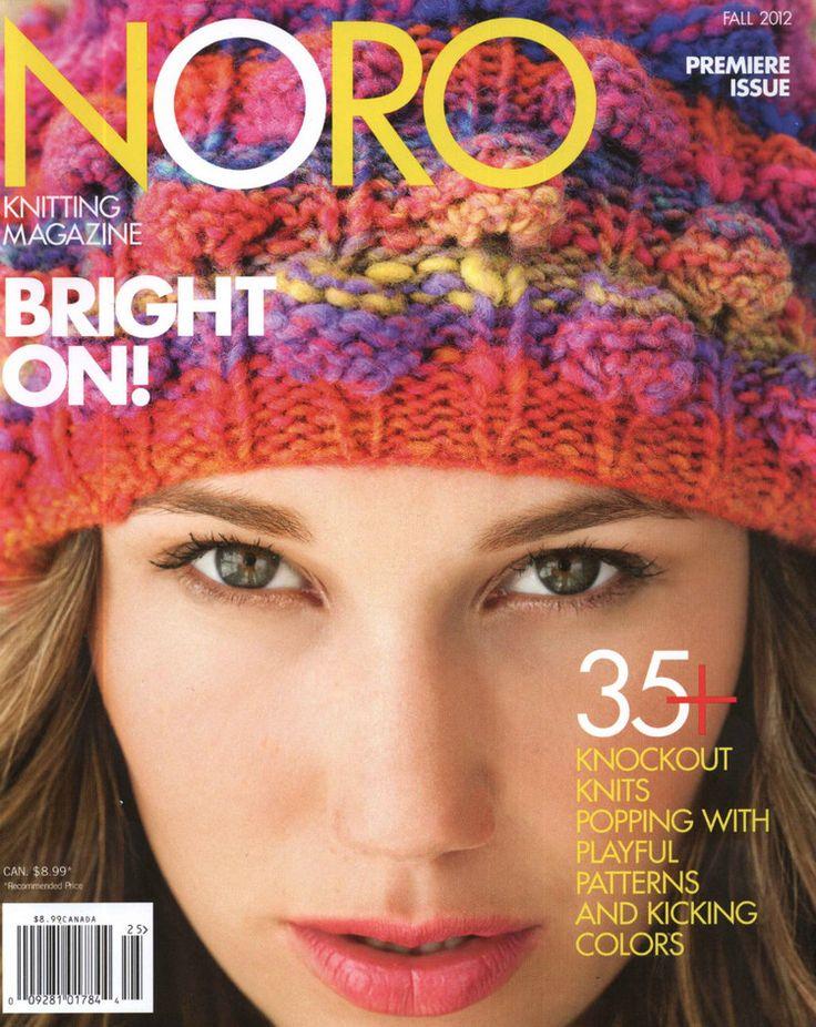 NORO Knitting Magazine Fall 2012 秋季 - 编织幸福的日志 - 网易博客